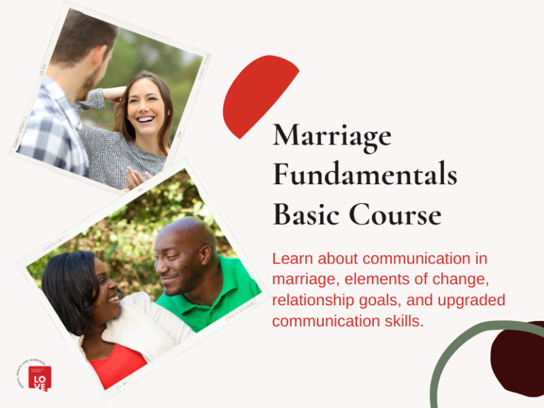 Marriage Fundamentals Basic Course